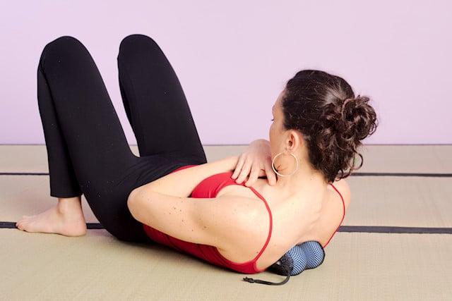 Utilisation des balle bêta pour masser les dorsales