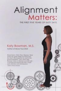 Couverture du livre de Katy Bowman : Alignment Matters