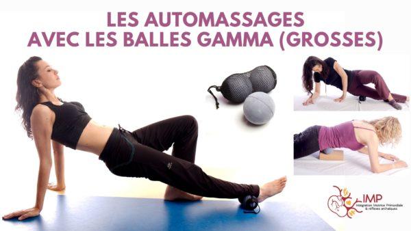 Automassages Balles Gamma