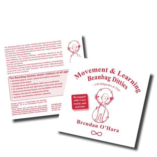 "CD "" Comptines pour sac de grains"" de Brendan O'Hara"