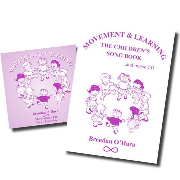 """Livre + CD """"Chansons pour enfants"""" de Brendan O'Hara"""