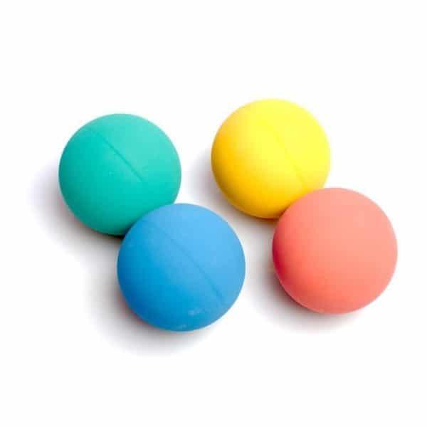 Balles rebondissantes pour jonglage au sol
