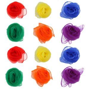 Foulards de jongle