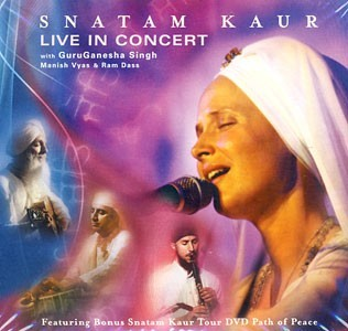 Live In Concert - Snatam Kaur CD + DVD