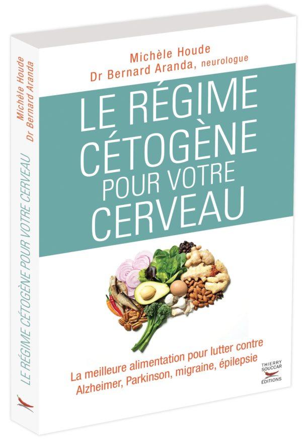"""Livre """"Le régime cétogène pour votre cerveau"""""""