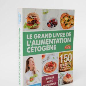 Livre Le grand livre de l'alimentation cétogène de Ulrich et Nelly Genisson
