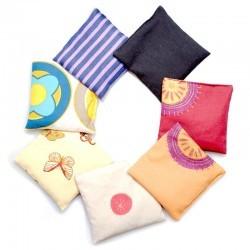 7 sacs de grains pour activités d'intégration d'IMP