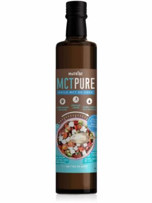 Huile de coco MCT Pure Nutribe