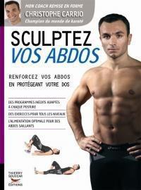 """Livre """"Sculptez vos abdos"""" de Christophe Carrio"""
