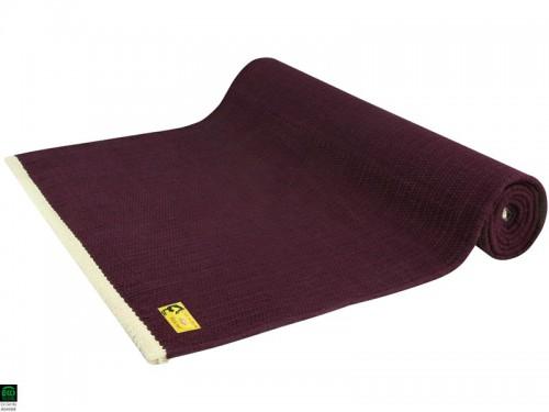 Tapis De Yoga Taj 100 Coton Bio 2 M X 66 Cm X 5 Mm Prune 1535912315