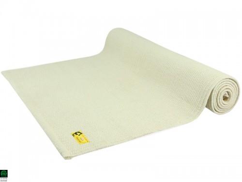 Tapis De Yoga Taj 100 Coton Bio 2 M X 66 Cm X 5mm Naturel 1535911293